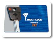 MUL-T-LOCK-bezpečnostní karta